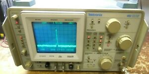 Tektronix 492 Tek Spectrum Analyzer Opt 1 2 3 works