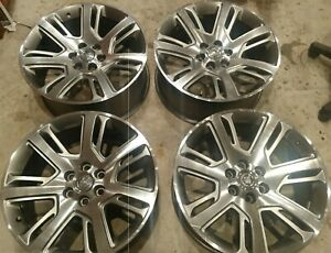 Oem Cadillac Escalade 22 Wheels 2015 18 22939280 Yukon Tahoe Gm 22x9 Rims