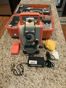 Pentax Pcs 215 Total Station With Charger And Case