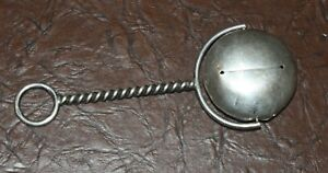 Unusual Vintage Web Sterling Silver Spinning Baby Rattle
