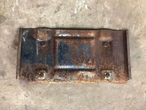1974 1975 Malibu Chevelle Elcamino Front License Plate Bracket