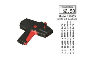 New Monarch 1110 Price Gun 1110 03 Free Shipping Authorized Monarch Dealer