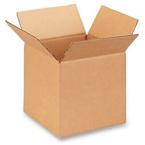 8x8x8 Corrugated Boxes 5 Pack 200 Lb Test