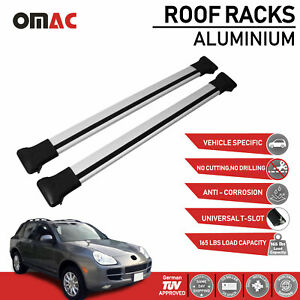 Roof Rack Cross Bars Luggage Carrier Silver Audi A4 Allroad Quattro 2008 2016