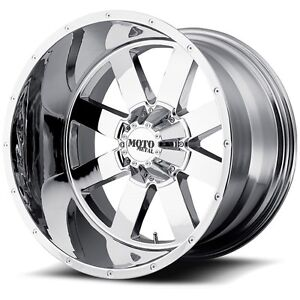 17 Inch Chrome Wheels Rims Hummer H2 Sut Chevy Dodge Lifted 8 Lug 17x10 Set Of 4