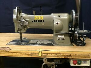 Juki Lu 563 Single Needle Walking Foot reverse Industrial Sewing Machine