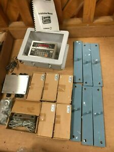 Condec Umc600 Scale Indicator 20 000 X 10 Lb 6 Shear Beam Load Cells 10 000 Lb