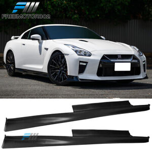 Fits 09 18 Nissan Gtr R35 Oe Factory Side Skirts Extension Rocker Panels 2pc