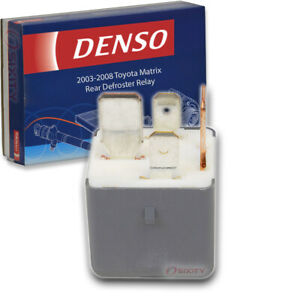 Denso Rear Defroster Relay For Toyota Matrix 2003 2008 Window Electrical Dl