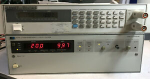 Agilent Hp 6034a Variable Dc Power Supply 0 60v 0 10a 200w Load Tested