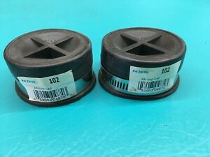 2 2 Nds 102 Rubber End Cap Pipe Sewer Water Drain Pvc Test Cleanout Sch 40