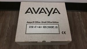 new Avaya G150 Ip Small Office Bundle 700343601 Phone System