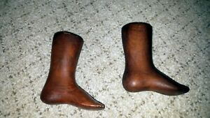 Rare Wooden Cobbler S Infant Size Shoe Lasts Pre 1850 Straight Lasts Wow