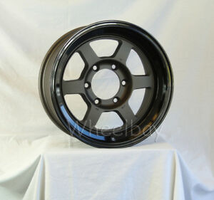 4 Rota Wheel Grid Type X 16x8 6x139 7 5 110 Fgm Blk With Caps Last Set