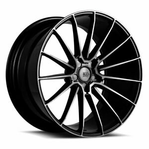 20 Savini Bm16 Concave Tinted Wheels Rims Fits Ford Mustang Gt Gt500
