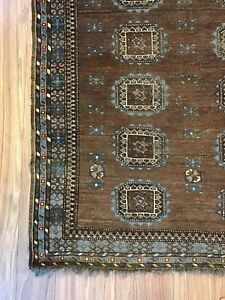 Antique Turkoman Ersari Tribal Rug 3 5 X 7 8 Balouch