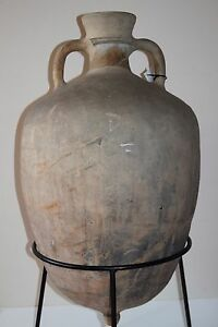 Large Ancient Roman Pottery Amphora 1 2nd Century Ad