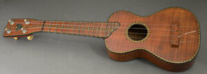 Rare Tonk Brothers Hawaiian Flamed Koa Ukulele Flamed Koa American 1920 1930