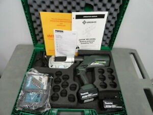 New Greenlee Ek1240kl11 12 Ton 18v Battery Crimper Kearney Ph2 Head Ek1240