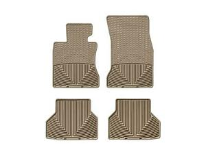 Weathertech All Weather Floor Mats For Bmw 5 Series 2004 2010 1st 2nd Row Tan
