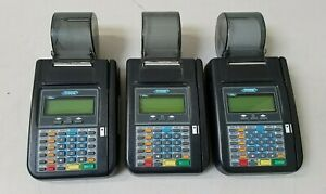 Lot Of 3 Hypercom T7plus Credit Card Machine Terminals