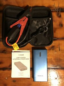 Winplus Type S Jump Starter And Portable Power Bank 2 Usb Charging Ports No Box
