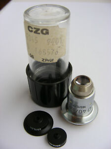 Zeiss Ud 40x 0 65c 160 0 17 Ulwd Microscope Objective Set For Fedorov Stage