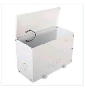 New White Chief Large Above tile Hinged Suspended Ceiling Box Storage Enclosure