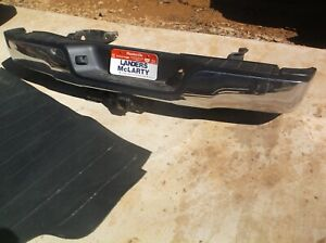 Toyota Oem 2013 Tundra Rear Chrome Bumper Complete Assembly Hitch