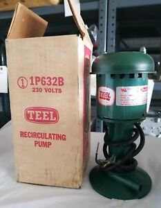 1p632b Teel 1 70hp 230v Coolant And Recirculating Pump 2 Available New