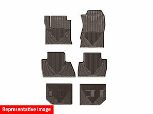 Weathertech All weather Floor Mats For Honda Odyssey 2011 2017 1st 2nd 3rd Cocoa