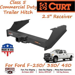 15810 Curt Class 5 Commercial Duty Trailer Hitch With 2 5 Receiver F 350 450