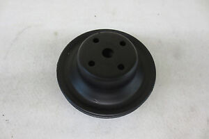 1970 S Gm Chevrolet Chevy Water Pump Pulley Ps Ac Accessory Crankshaft 351680aa