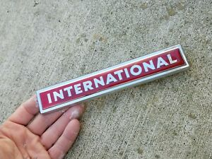 Nos 1960 S International Scout Travelall Rear Tailgate Emb 11810 1 2754222 R1