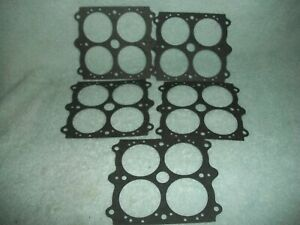 Holley 108 5 Throttle Body Gasket 600 650 750 800 Dp Carb Double Pumper 4150