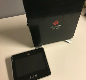 Polycom Hdx 8000 With Codec Camera mic Remote touch Panel And Licenses