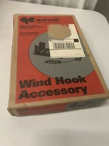 Qual Craft 2602 Wall Jack Wind Hook Accessory New