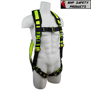 Fall Protection Fs185 Safewaze Pro Vest Construction Safety Padded Harness