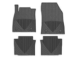 Weathertech All weather Floor Mats For Chevy Impala 2014 2019 1st 2nd Row Black