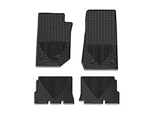 Weathertech All weather Mats For Jeep Wrangler Unlimited 14 18 1st 2nd Row Black