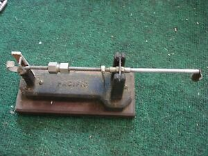 Antique Pacific Powder Scale for Reloading RCBS Lee Lyman modified