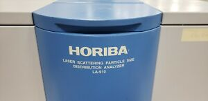 Horiba La 910 Laser Scattering Particle Size Distribution Analyzer Used Clean