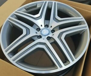 21 Mercedes Benz Gl Gl550 Gl63 Amg Oem Wheel Rim Authentic 98500 21 Mbz