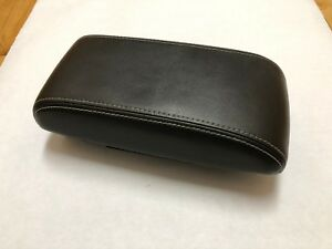 Ford Fusion Center Arm Rest Console Cover Lid Black Leather 08 09 10 2011 2012