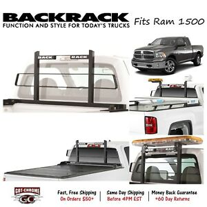 15017 Backrack Black Original Headache Rack Fits Dodge Ram 1500 2009 2018