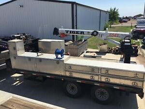 5th Wheel Heavy Duty Utility Trailer 16 000 Lb Capacity