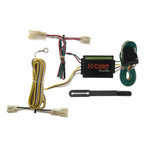 55358 Curt 4 way Flat Trailer Wiring Connector Harness Fits Toyota Camry