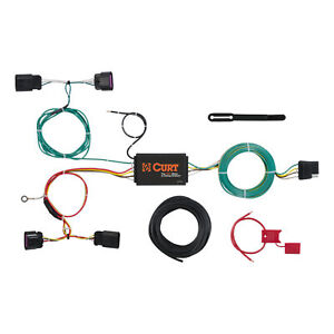 56288 Curt 4 Way Flat Trailer Wiring Connector Harness Fits Buick Verano