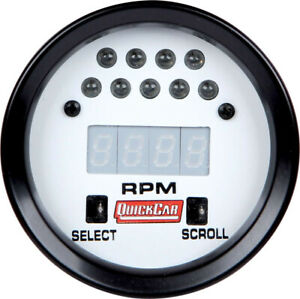 Quickcar Racing Products 9990 Rpm Extreme Digital Tachometer P n 611 7010