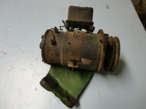 John Deere A Delco Remy 12 Volt Generator And Bracket 1100368 A3380r